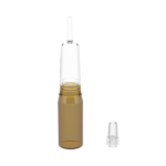dropper teat on a glass ampoule