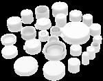 Cap, screw cap, snap cap, stopper, bouchage, bouchon, fermeture, capuchon, capsule, réducteur, obturateur, capot, Kappe, Verschlüsse