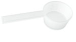 Dosing spoon, spoons with graduations, measuring spoons, dosing, measured volume